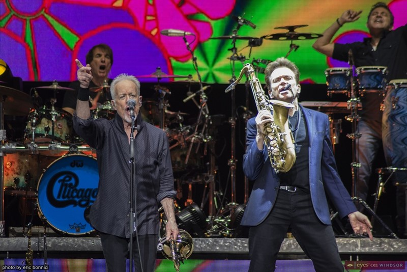 Chicago band members James Pankow and Ray Herrmann