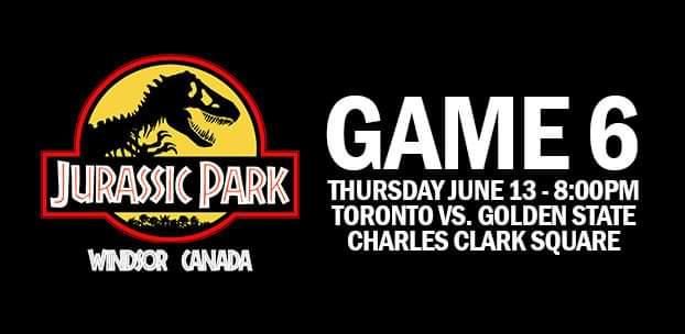 Jurassic Park Windsor Poster