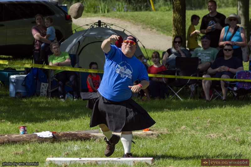 Kingsville Highland Games Shot Put Competition