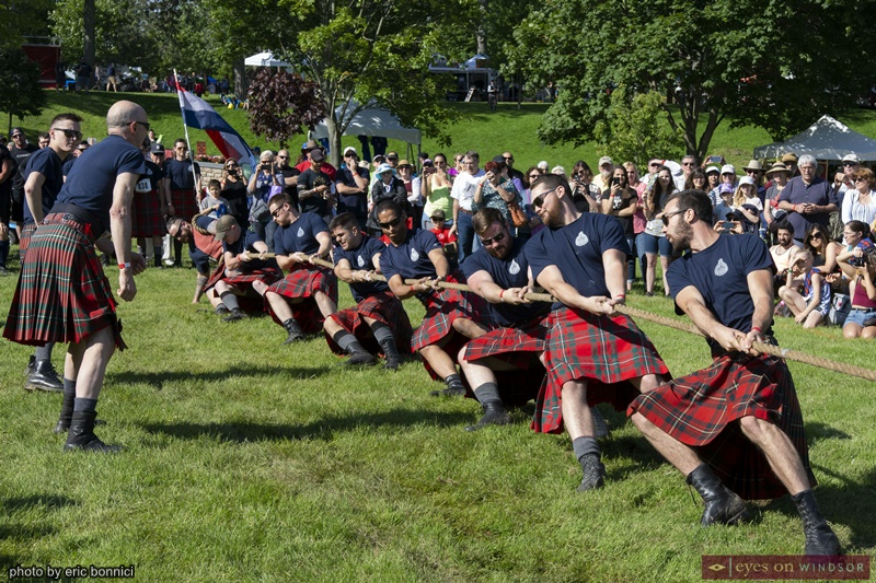 Kingsville Highland Games Tug of War Competition