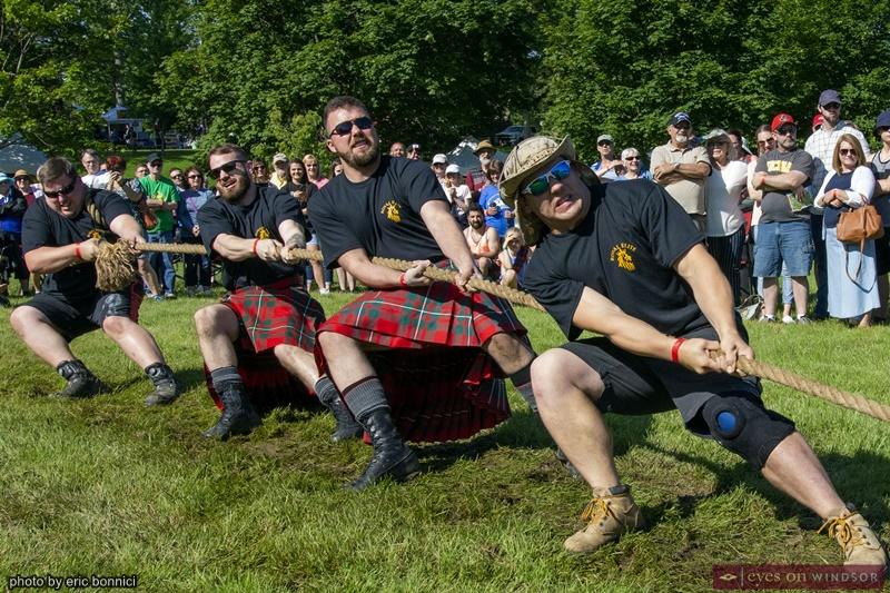 Kingsville Highland Games Tug of War