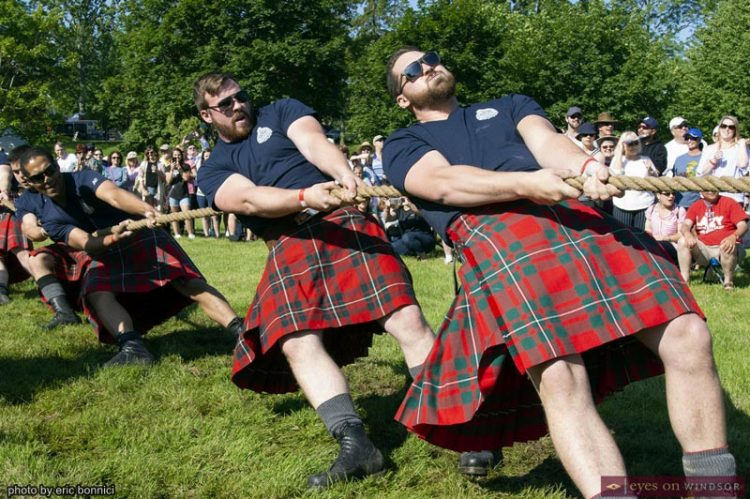 Kingsville Highland Games Successfully Returned To A Tartan Filled Lakeside Park