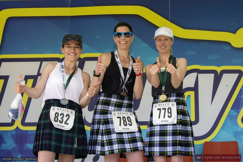 Kingsville Kilt Run top finishers