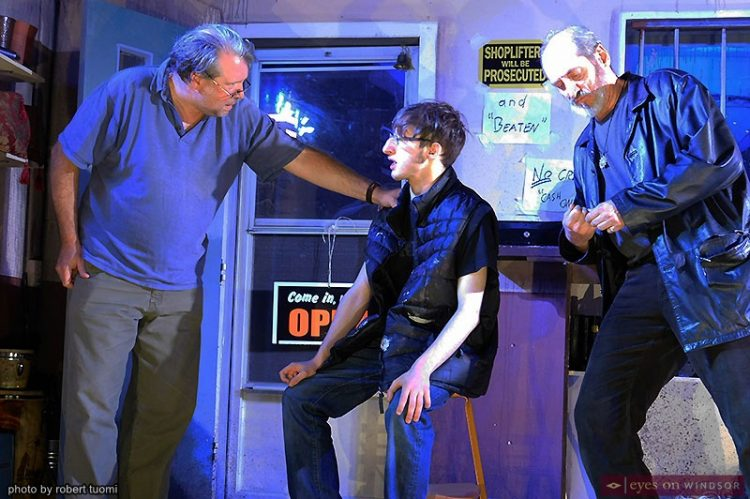 Review: American Buffalo With Post Productions Actors Provides Exceptional Entertainment
