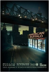 American Buffalo Post Productions Poster