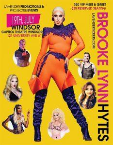 Brooke Lynn Hytes Drag Show Poster For Windsor
