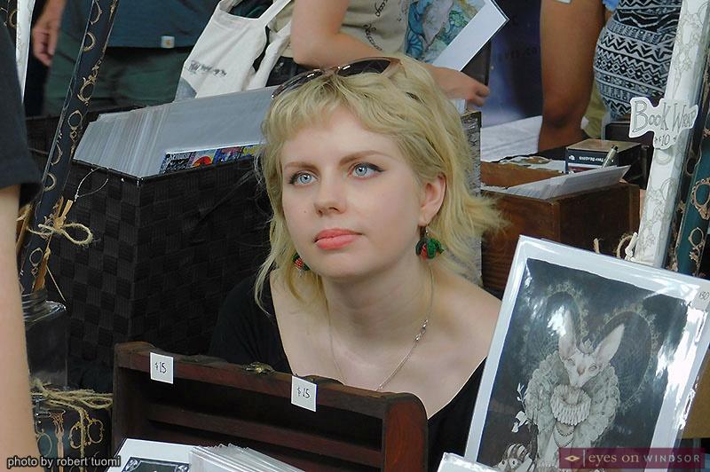 Artist Audrey Benjaminsen