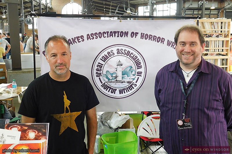 Mark Matthews and Mark Van Horn, Great Lakes Association of Horror Writers