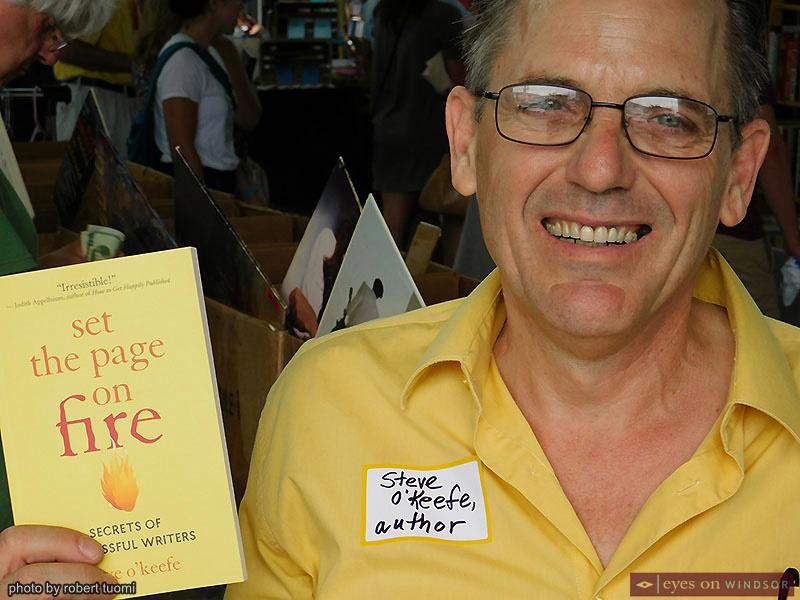 Author Steve O'Keefe