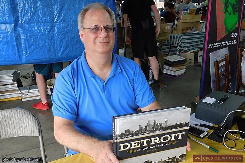 Author Paul Vachon