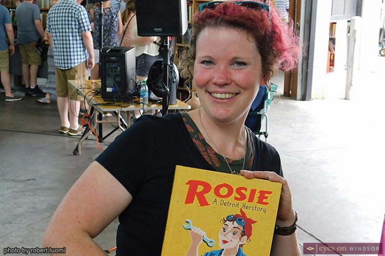 History Finds An Audience at Detroit Festival of Books in the Eastern Market