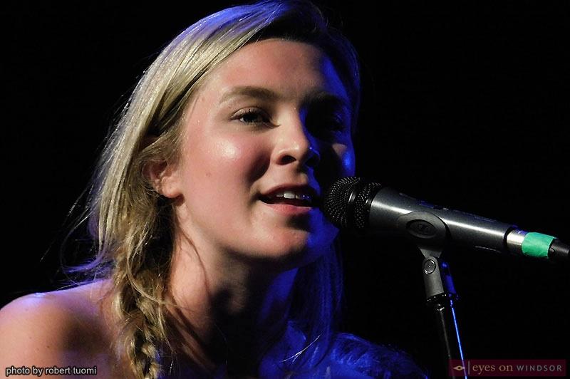 Singer Erin Gasparini