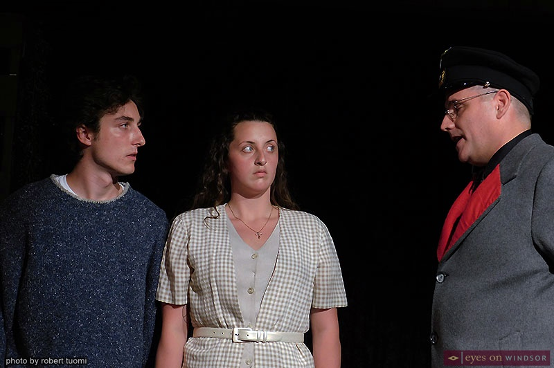 Imaginary Lines cast members Martin Ouellette, Shayla Hudson, and Avery Meloche