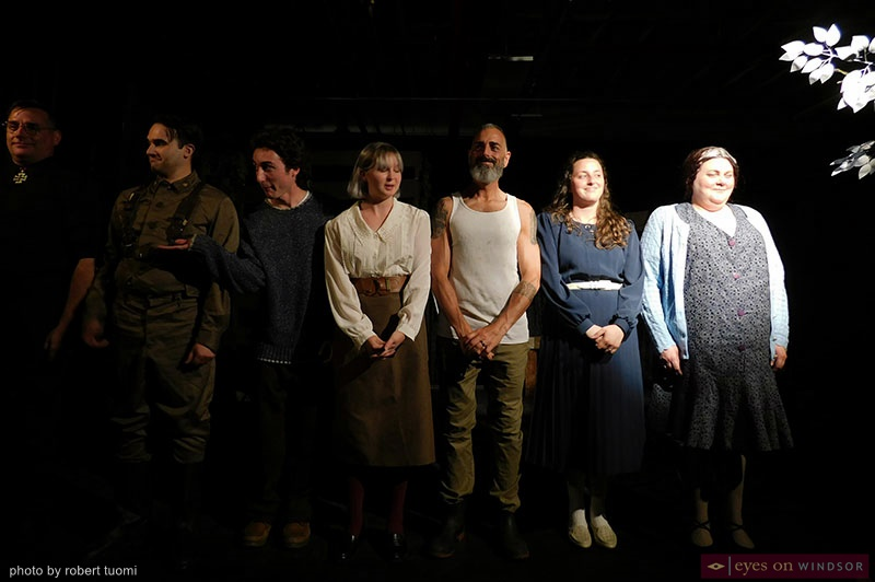 Imaginary Lines cast takes a final bow