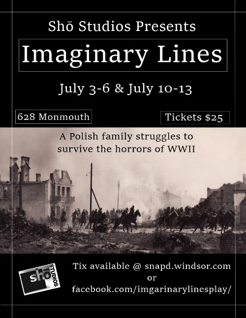 Imaginary Lines Poster