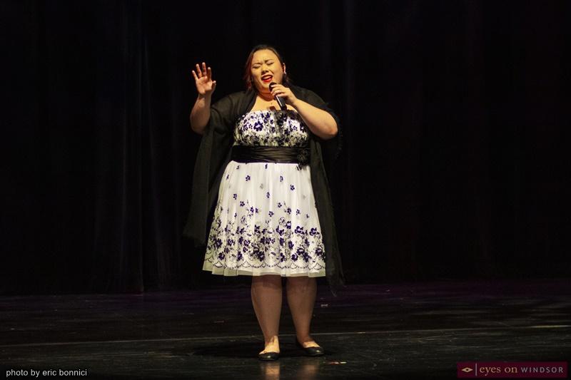 Kaila Ilyssa Delarmente singing