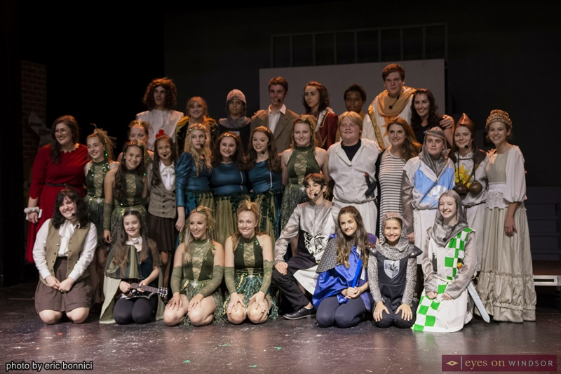LAFA Elite cast of Spamalot Young at Part