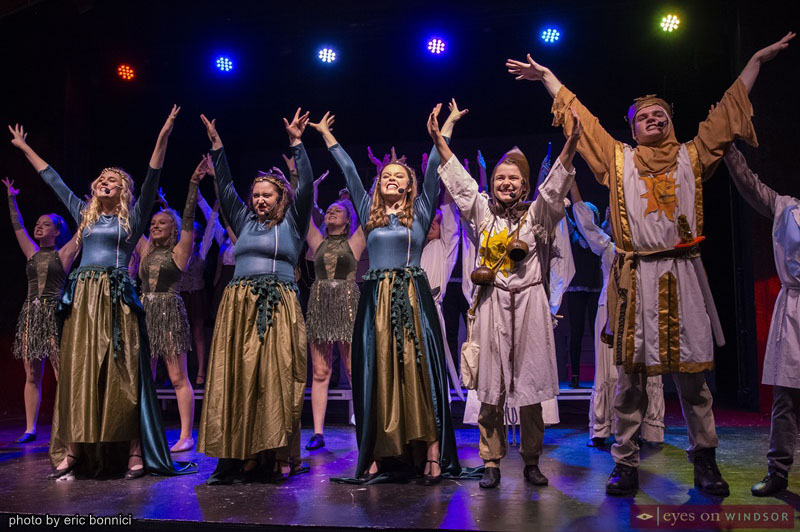 Cast of LAFA Elite's Spamalot Young @ Part