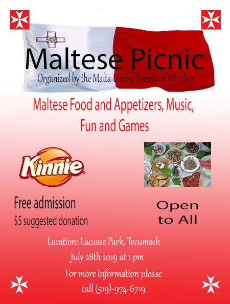 Maltese Picnic Hosted by The Maltese United Society of Windsor