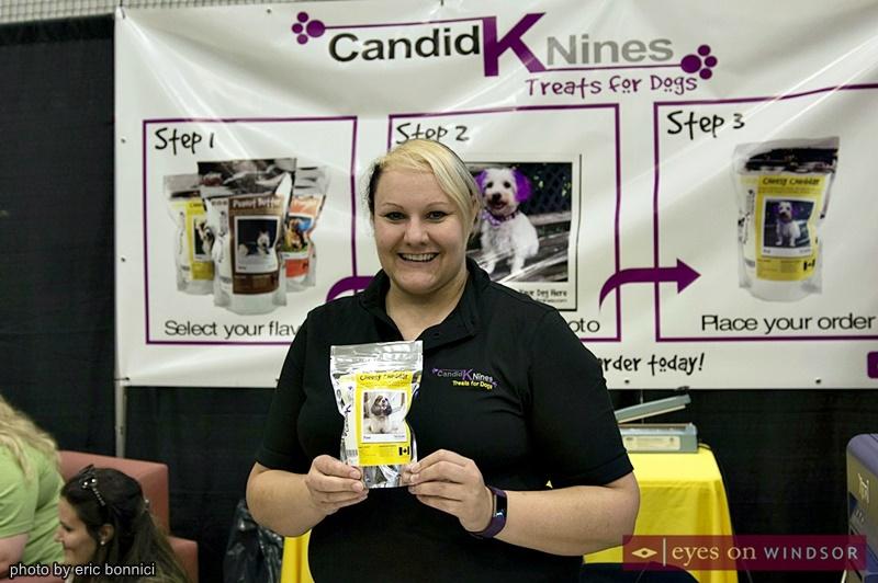 Nicole St. Onge Candid K Nines Treats