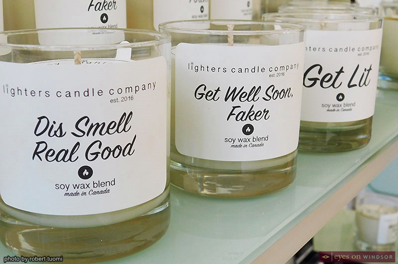 Candles at Whiskeyjack Boutique