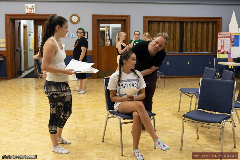 ACT Windsor's Cast of Footloose The Musical Rehearsing