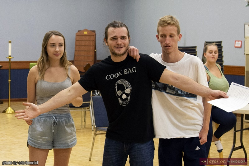 ACT Windsor Footloose The Musical Cast Members Rehearsing