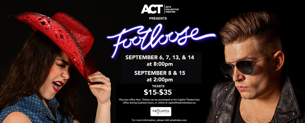 ACT Windsor Footloose The Musical Banner