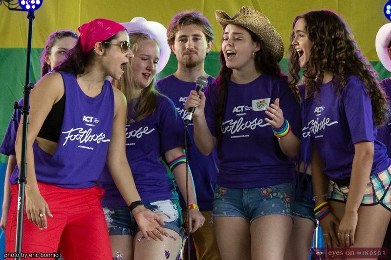 ACT Windsor Footloose Cast Singing