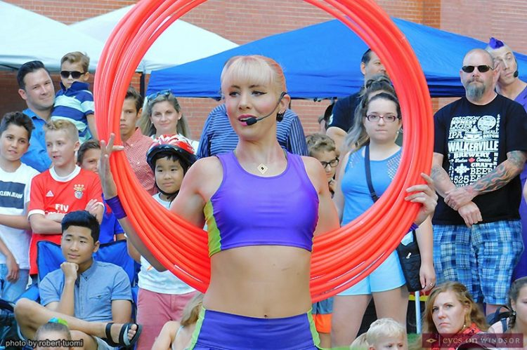 Buskers Bask in Adulation At Busk On The Block Festival in Walkerville