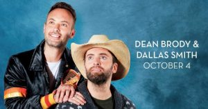 Dean Brody and Dallas Smith at Caesars Windsor