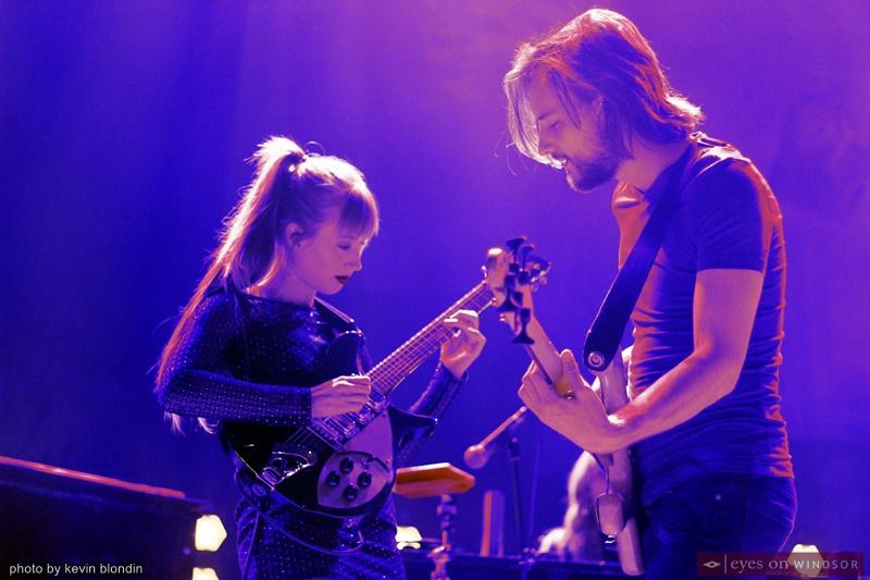 Hozier band members Emily Kohavi (Emily Powell) and Alex Ryan