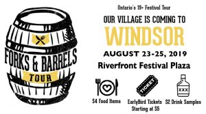 Forks & Barrels Festival Tour Windsor