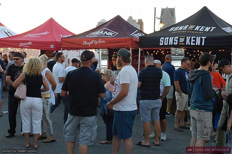 Craft Beer section of the Forks & Barrels Tour in Windsor