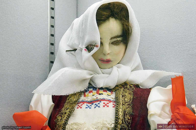 A doll from the Windsor Serbian Heritage Museum collection