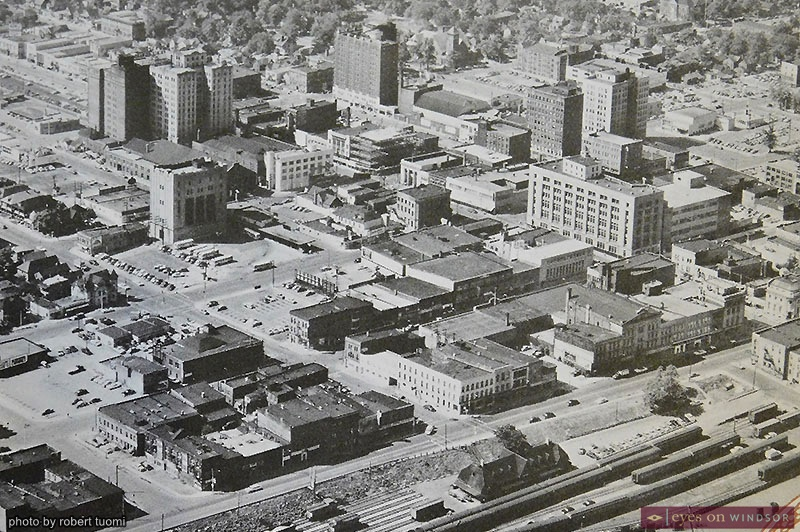 Archival photo of The City of Windsor