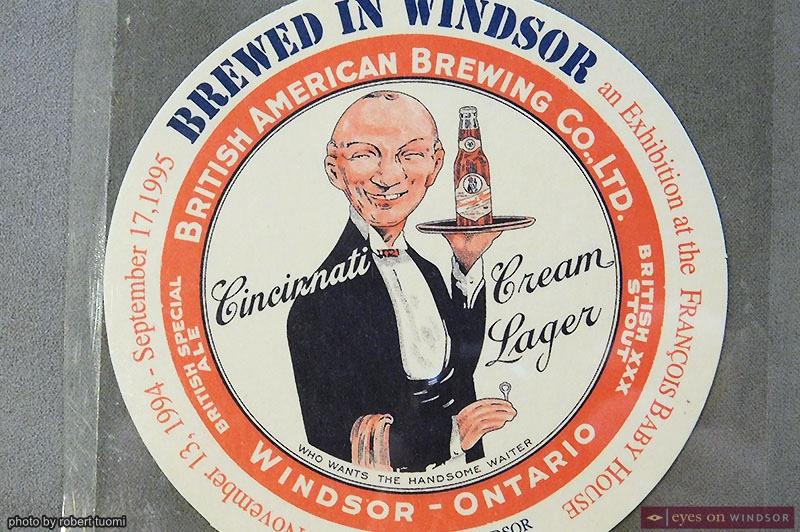 British American Brewing Company Drink Coaster