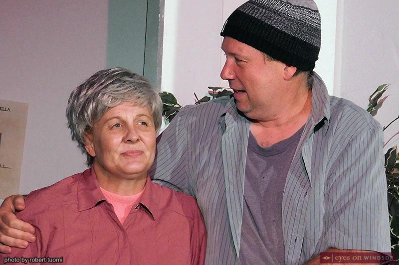 Actors Allison Still and Joey Ouellette performing in Marjorie Prime