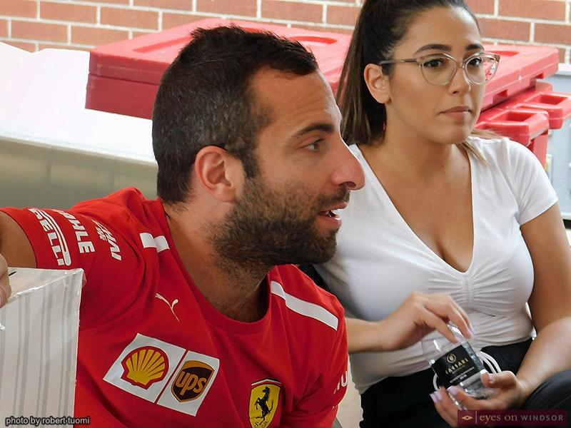 Gerrardo DeRose and Ashley Amiouni