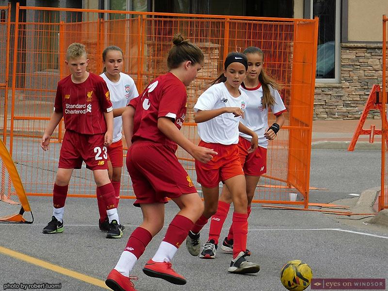 St. Angela Merici Festival Soccer Game