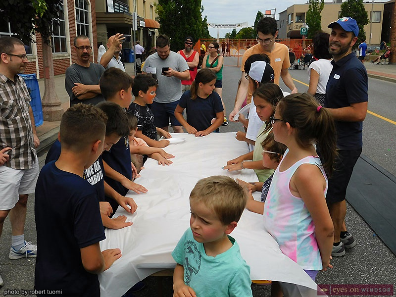 St. Angela Merici Festival Watermelon Eating Contest Children Contestants