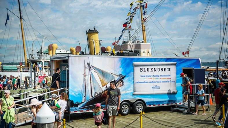 Kingsville Tall Ships Festival Hosts Windsor Built Bluenose II Museum