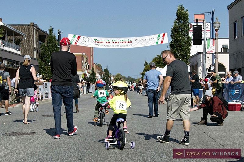 Tour Di Via Italia Kids Bike Race