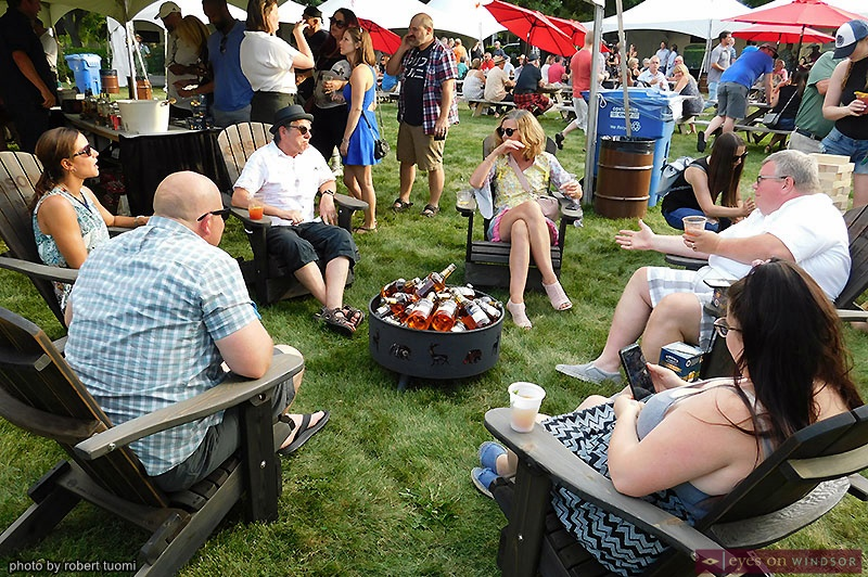 People Socializing at Whiskytown Festival