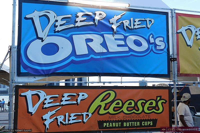 Deep Fried Oreo's and Reese's Peanut Butter Cups