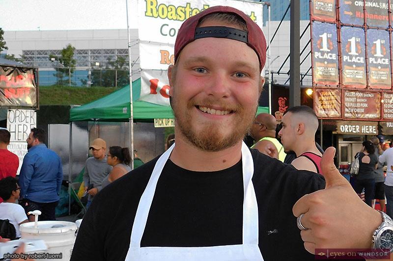 Matthew Schwindt of Texas Jack's Famous Dry Rib BBQ Pit