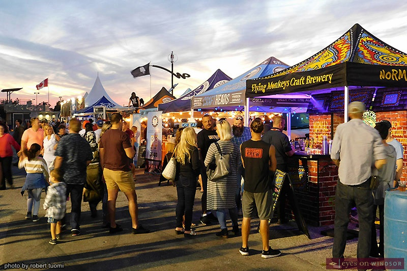 Craft Beer Market at Windsor Ribfest