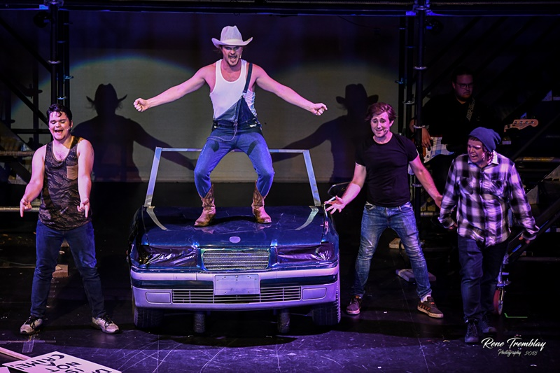 ACT Windsor's Footloose The Musical Scene with Wilard Hewitt (Kyle Cloutier)