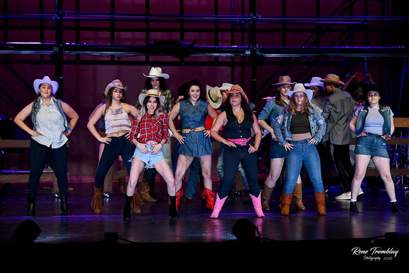 Footloose Cast Dancing ACT Windsor