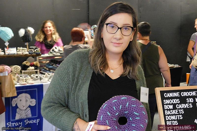 Jen Drew of Canine Crochet